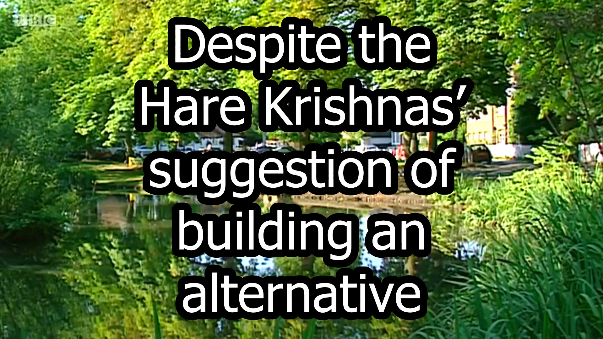 Vilas Park Deathtrap Revisited >> Hare Krishna In The Movies