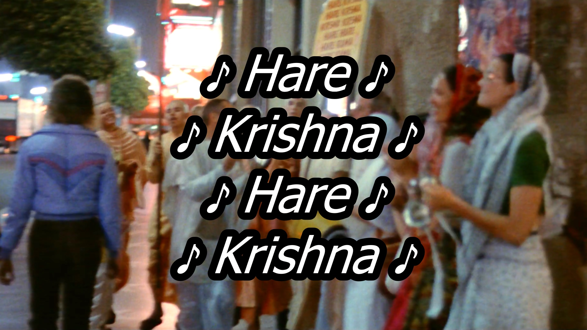 Hare Krishna in the Movies